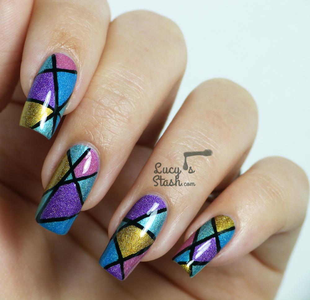 14 abstract nail designs images abstract nail art abstract nail abstract nail art design prinsesfo Image collections