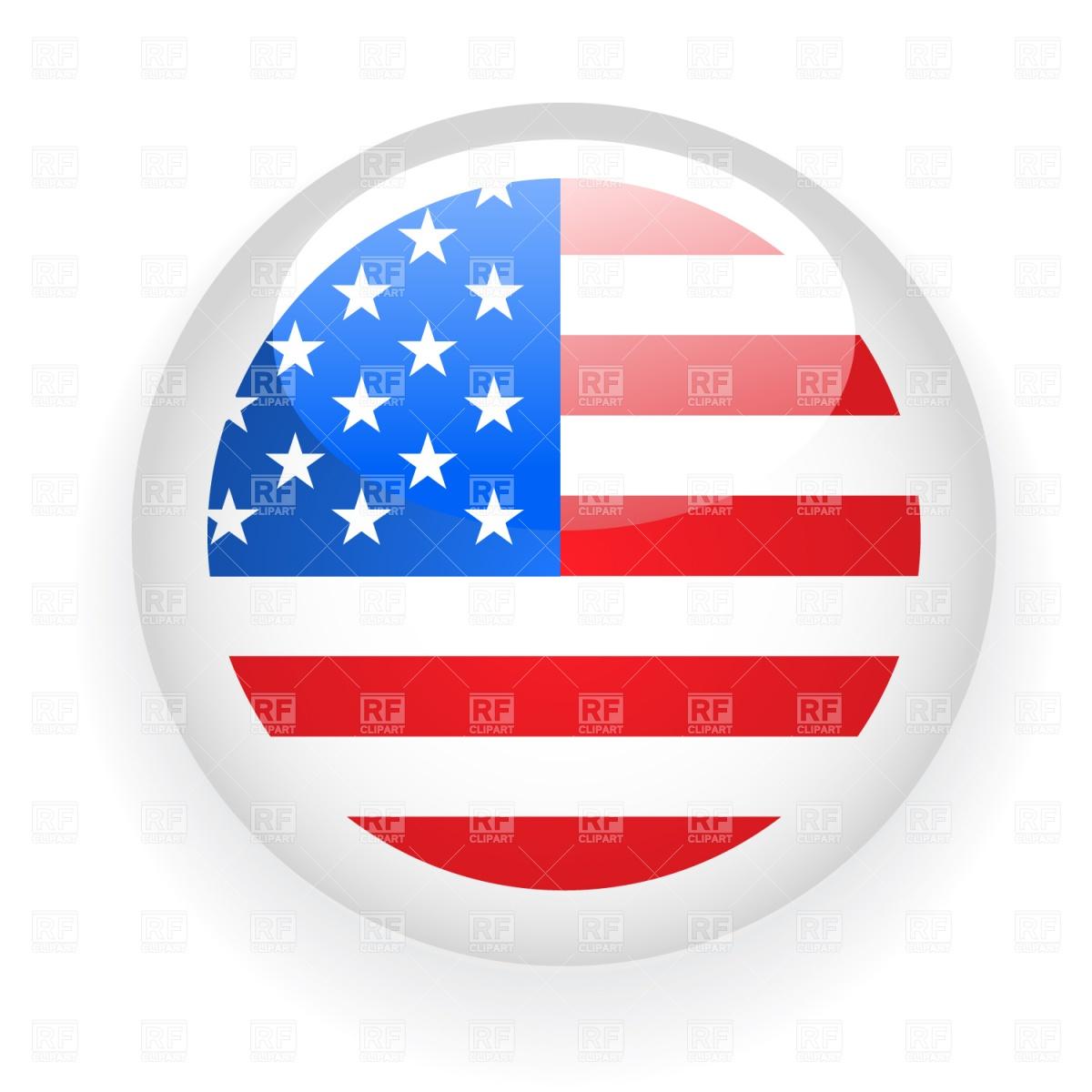 American Flag Vector Clip Art