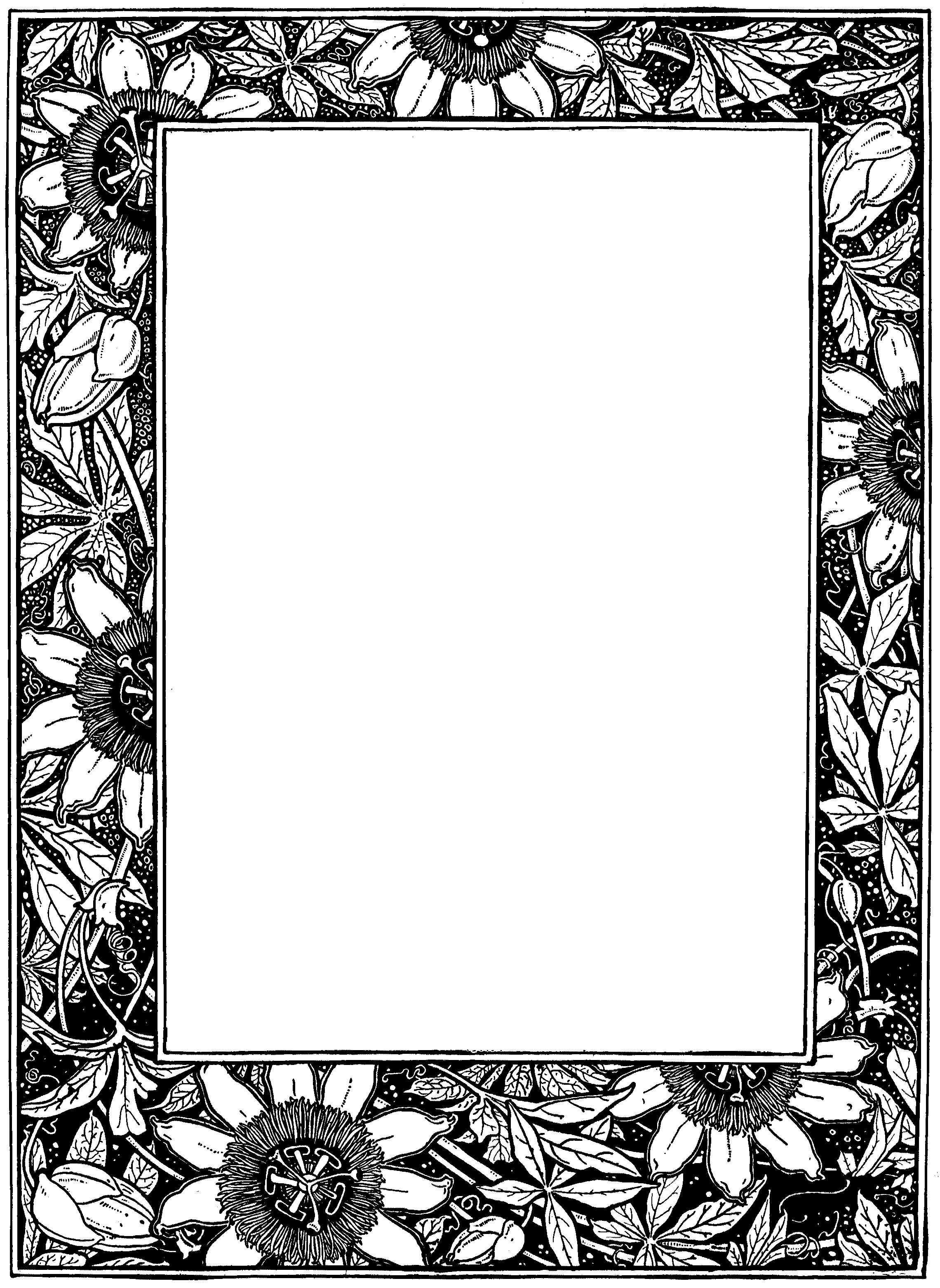 Simple corner border designs for projects