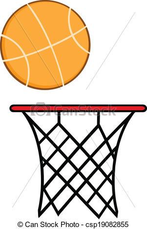 Basketball Net Hoop Clip Art