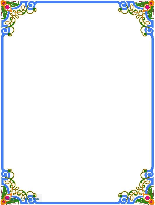5 islamic border vector images vector islamic borders for Paper border designs