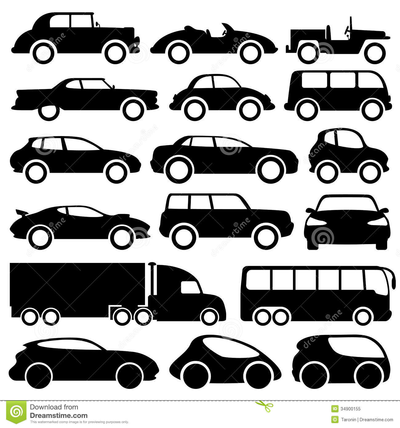 12 Black And White Truck Icon Images
