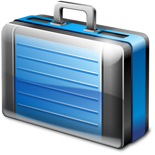 12 Blue Briefcase Icon Images