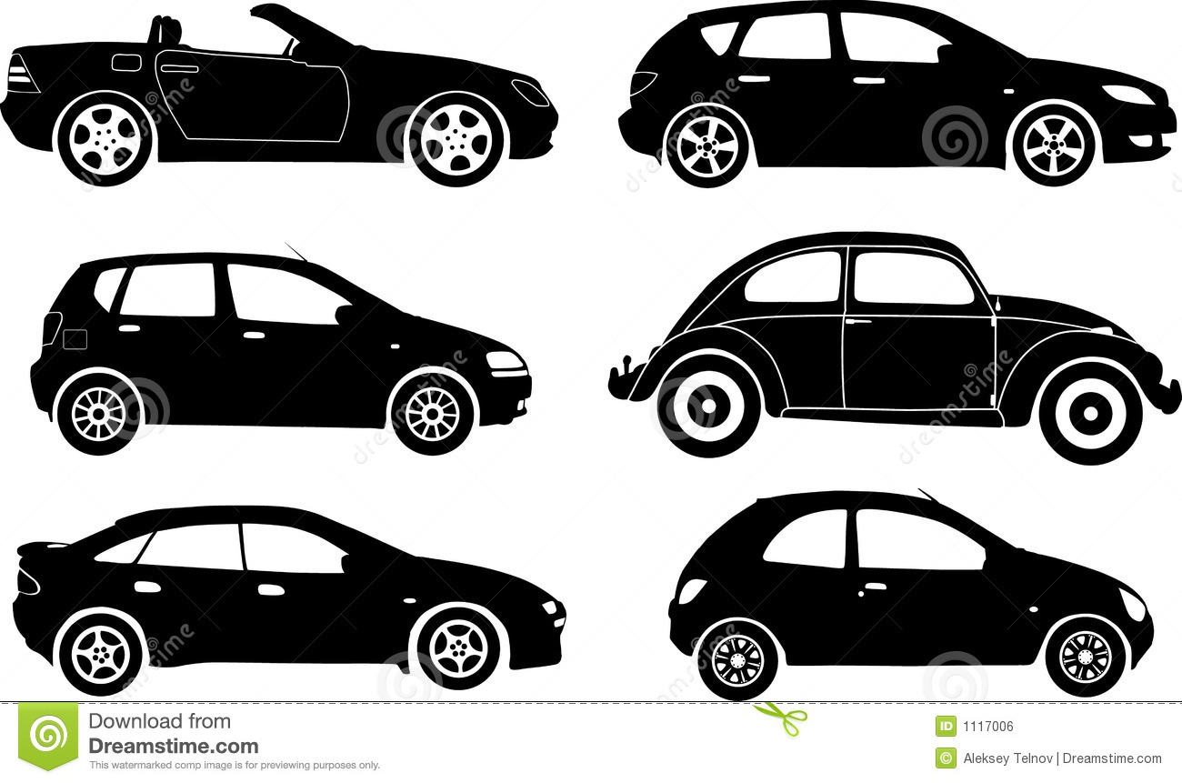 11 Car Silhouette Vector Images