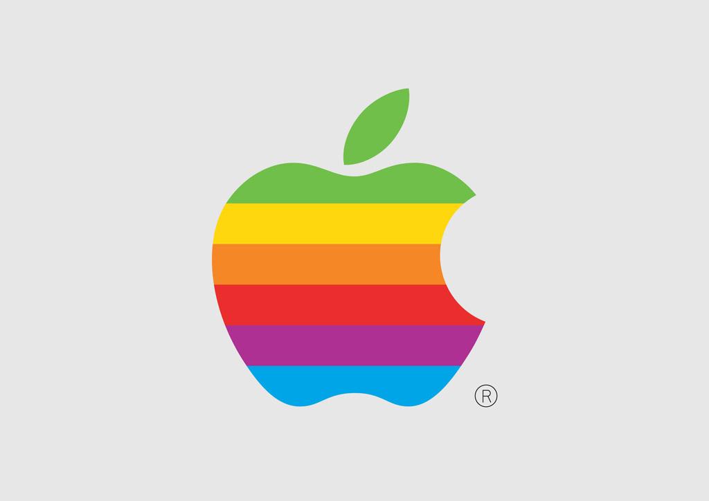 Clip Art of Apple Mac Computer