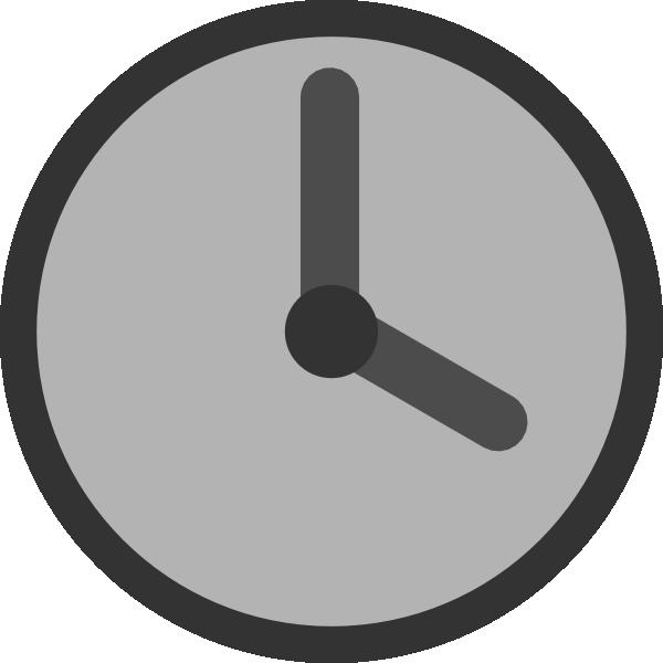 12 Clock Clip Art Icon Images