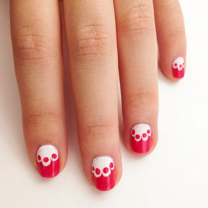 16 Cute Easy Nail Designs For Teenagers Images , Cute Easy