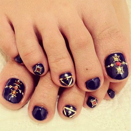 Cute Toe Nail Designs 2014