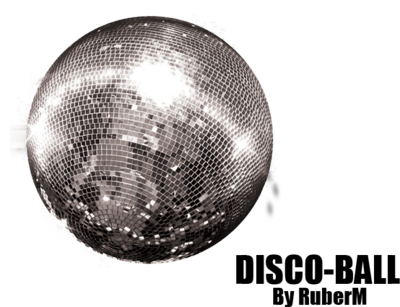 Disco Ball PSD