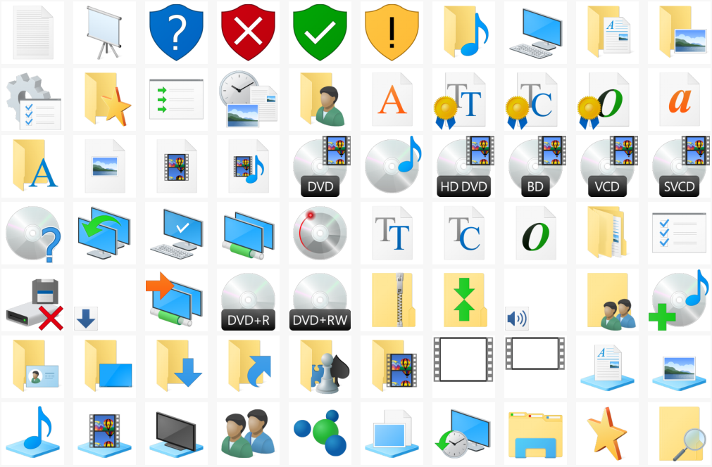 12 Download Windows System Icons Images