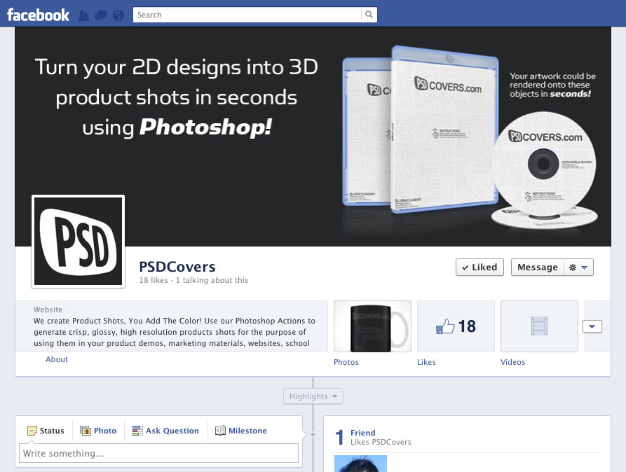 Facebook Timeline Cover Templates Free