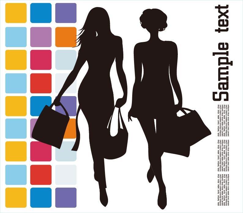 Fashion Shopping Vector Illustration