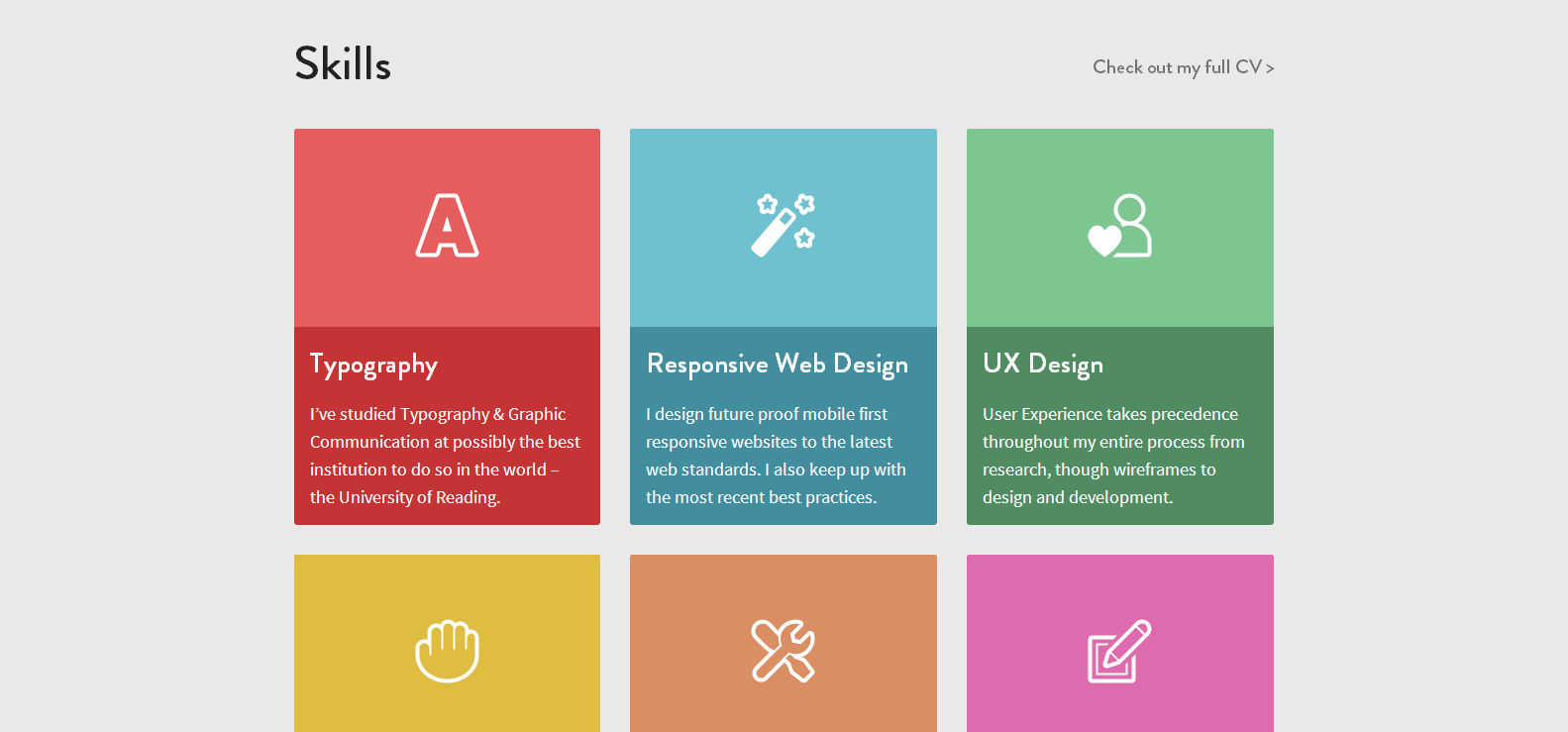 Flat UI Web Design Inspiration