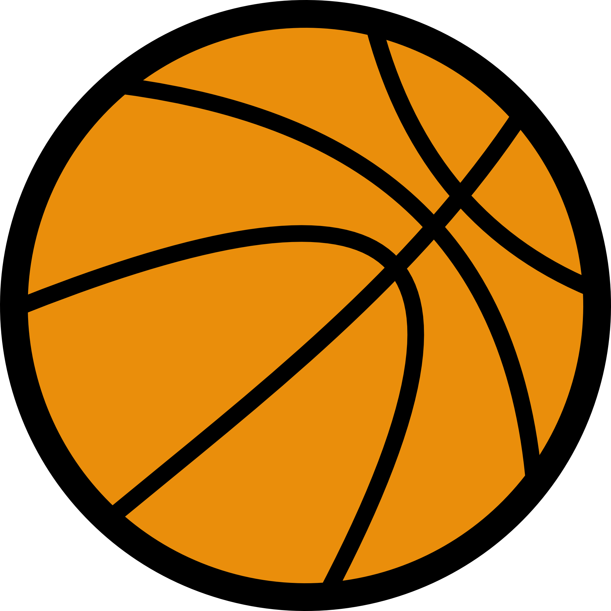 Free Basketball Clip Art