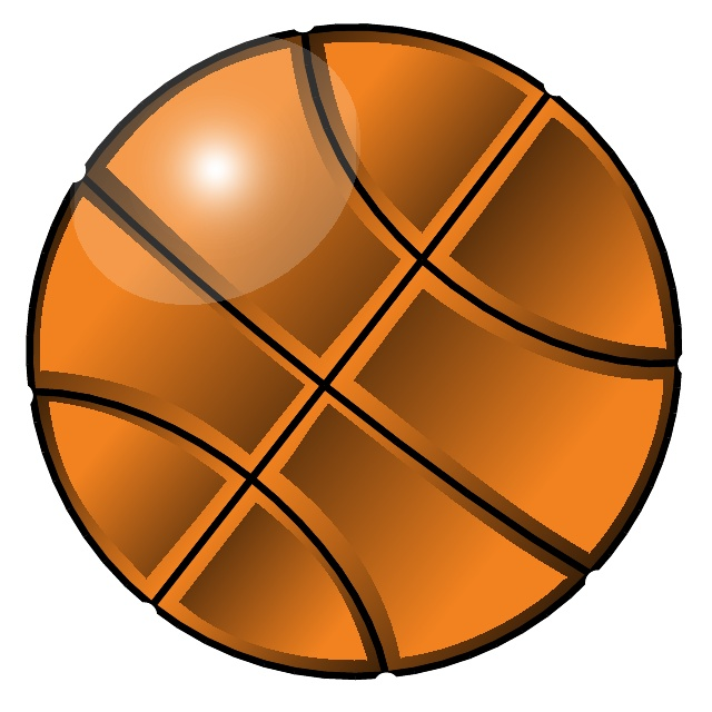 Free Basketball Vector Art