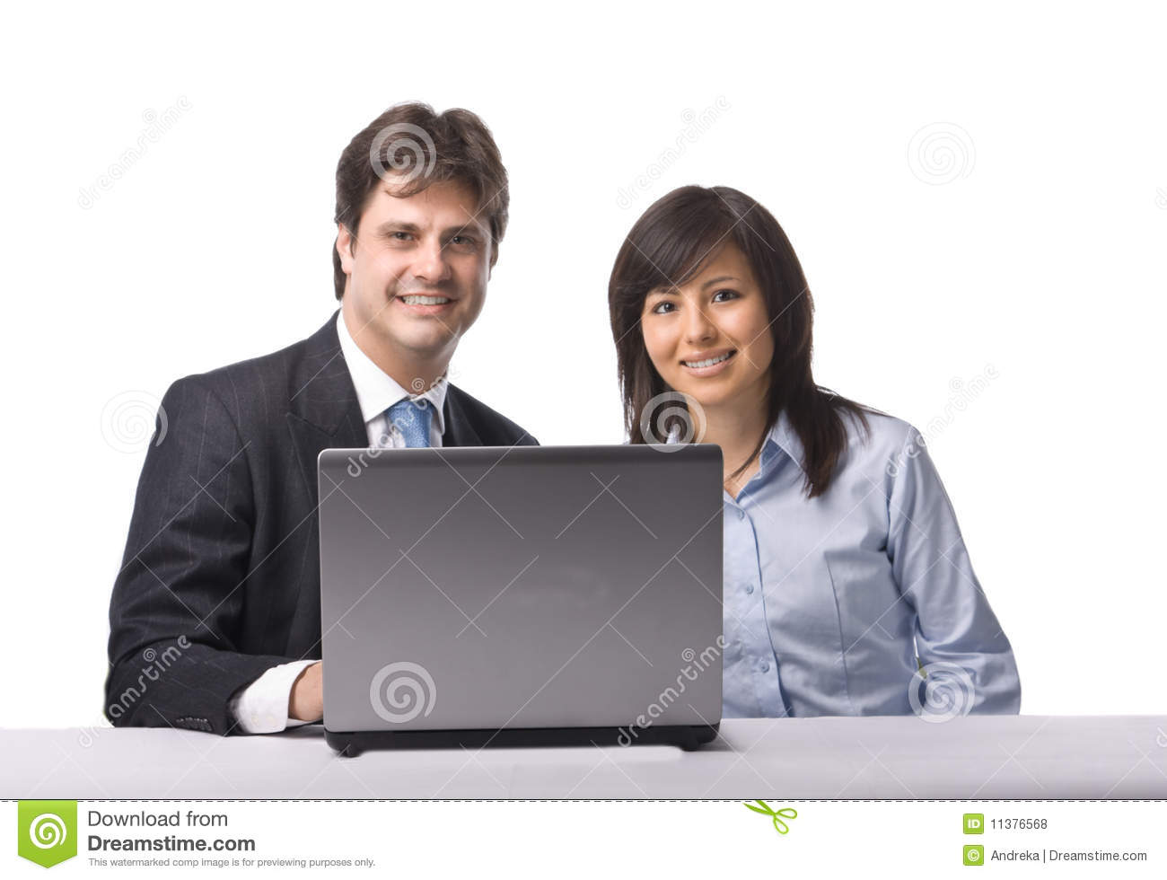 Free Business People Working