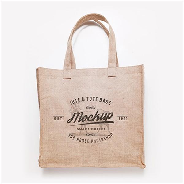 Free Canvas Shopping Bag PSD Mockup