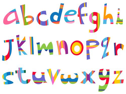 14 Vector Art Letters Images