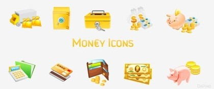 8 Vector Wallet Icon 3D PNG Images