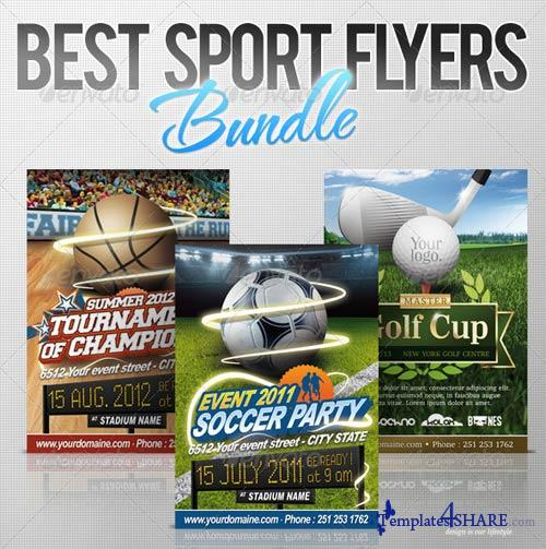 free sports flyer templates