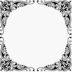 Free Vector Corner Design Ornament