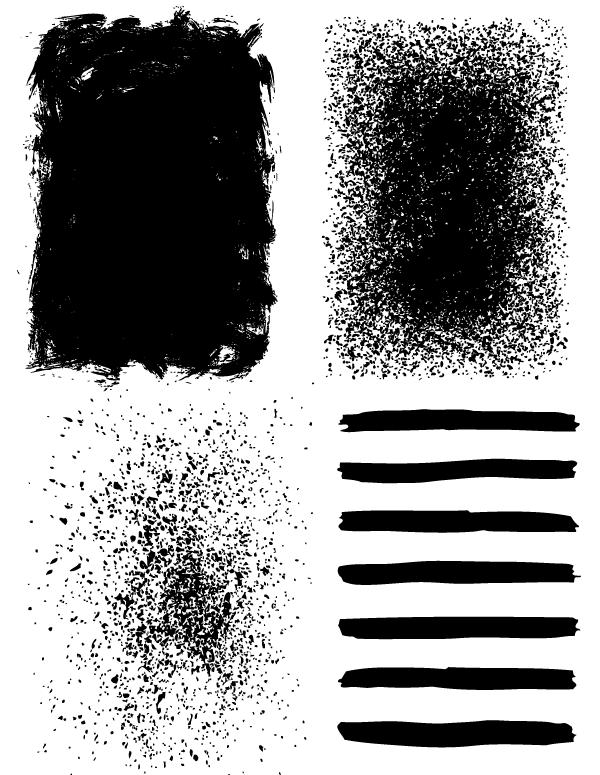 13 Grunge Splatter Background Vector Free Download Images