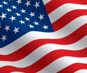 Free Vector United States Flag Clip Art