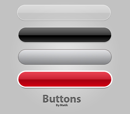 14 Download PSD Buttons Images