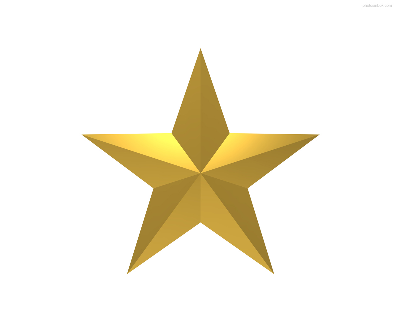 11 Gold Star Icon Images