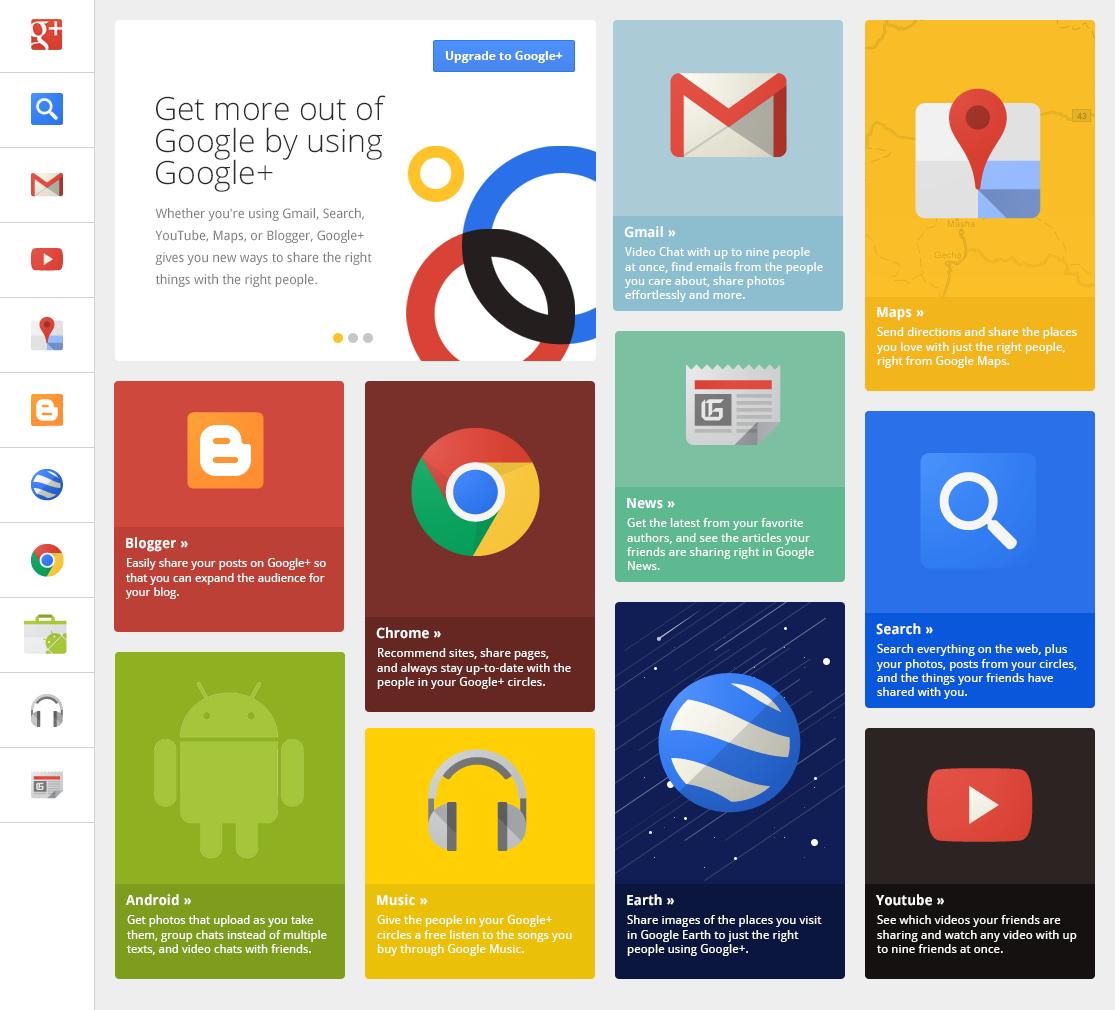 Google Flat Design