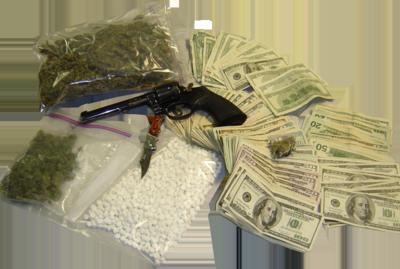 11 PSD Drug Money Images - Guns in Money Bag PSD, Guns ...