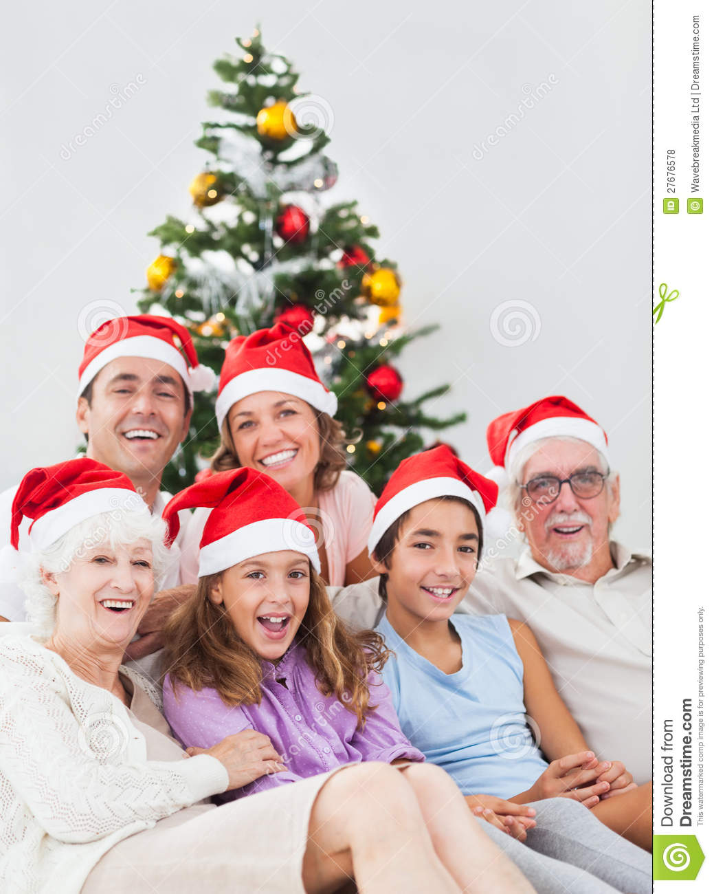 Happy Families at Christmas