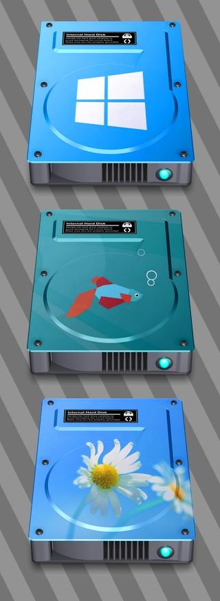 Hard Drive Icon Windows 8