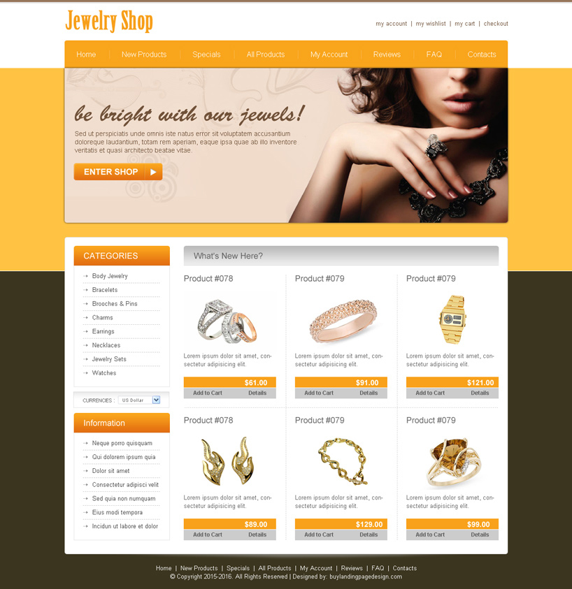 12 Best Jewelry Design Templates Images