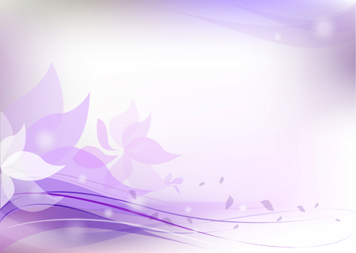Light Purple Swirls