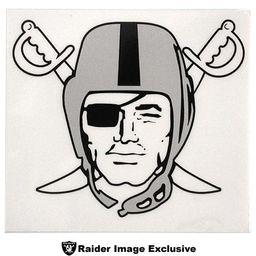 Oakland Raiders Logo Stencil