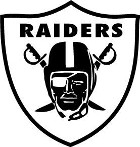 Oakland Raiders Logo White