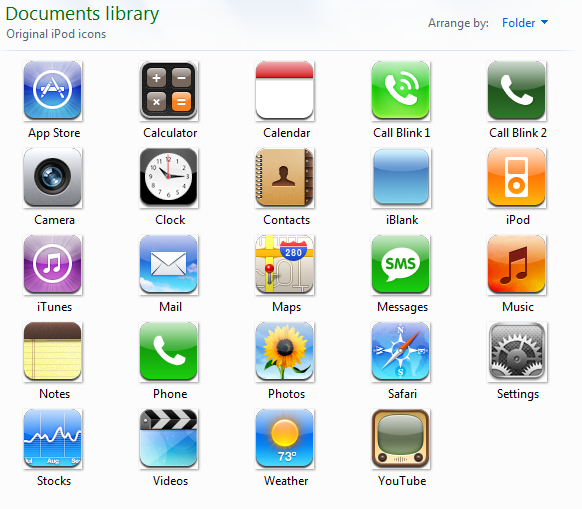 19 All IPhone Icons Images - Apple iPhone App Icons ...