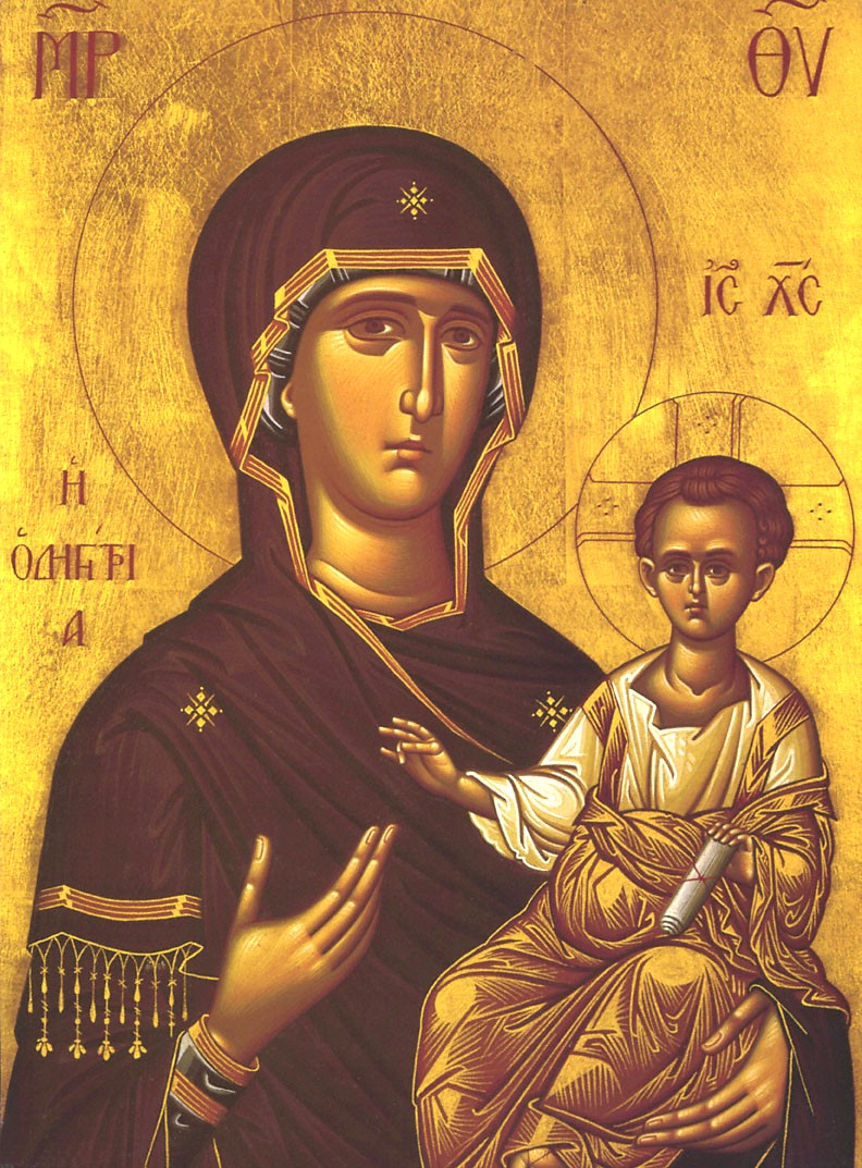 14 Orthodox Icon Mary And Jesus Images