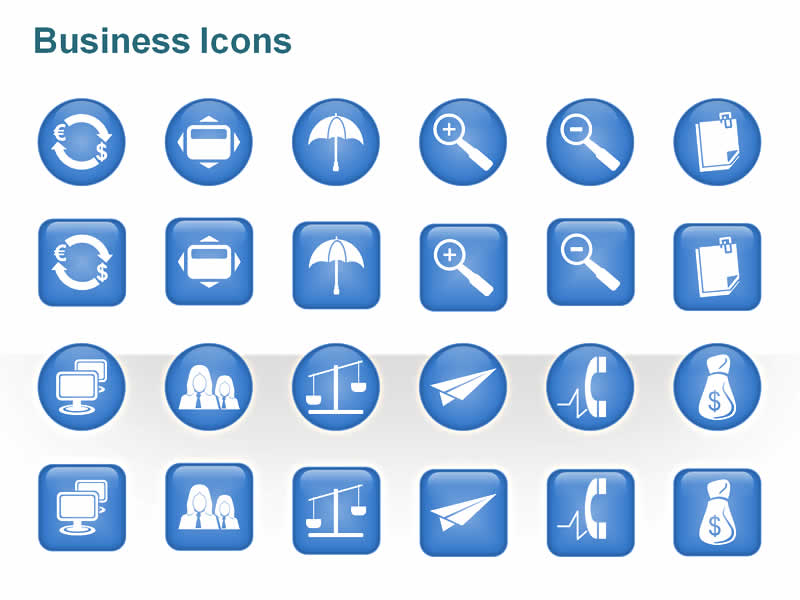 20 Icons For Business Presentations Images