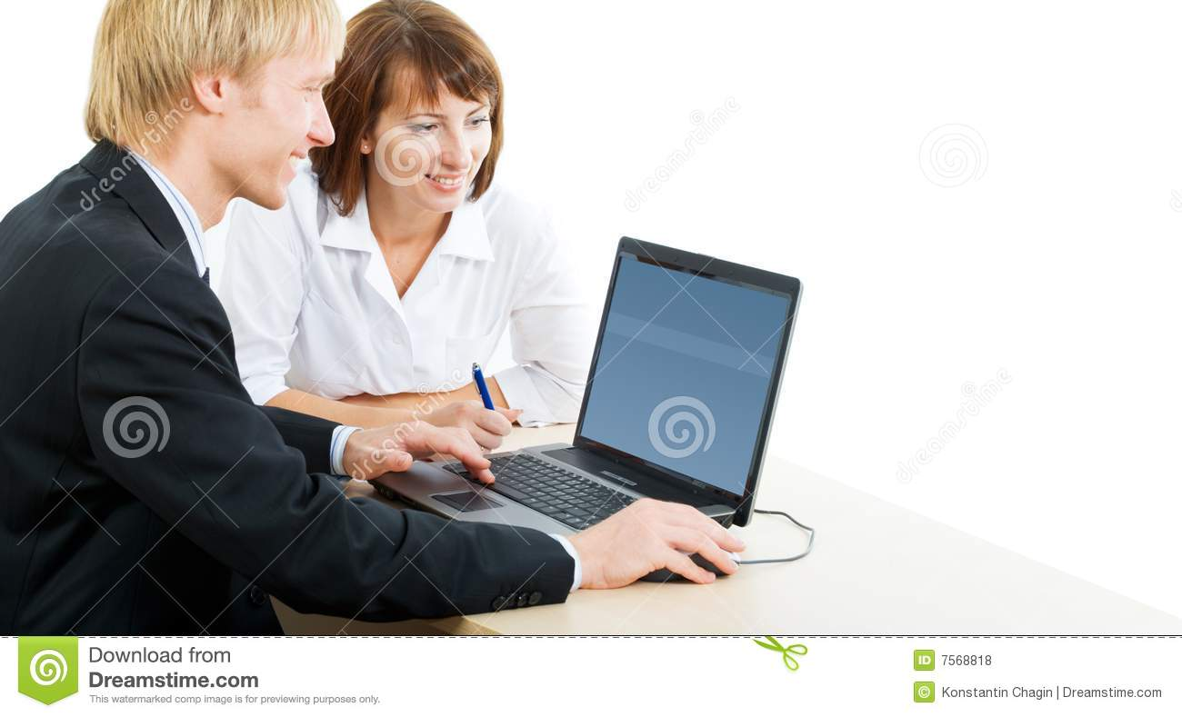 Royalty Free Photo People Working