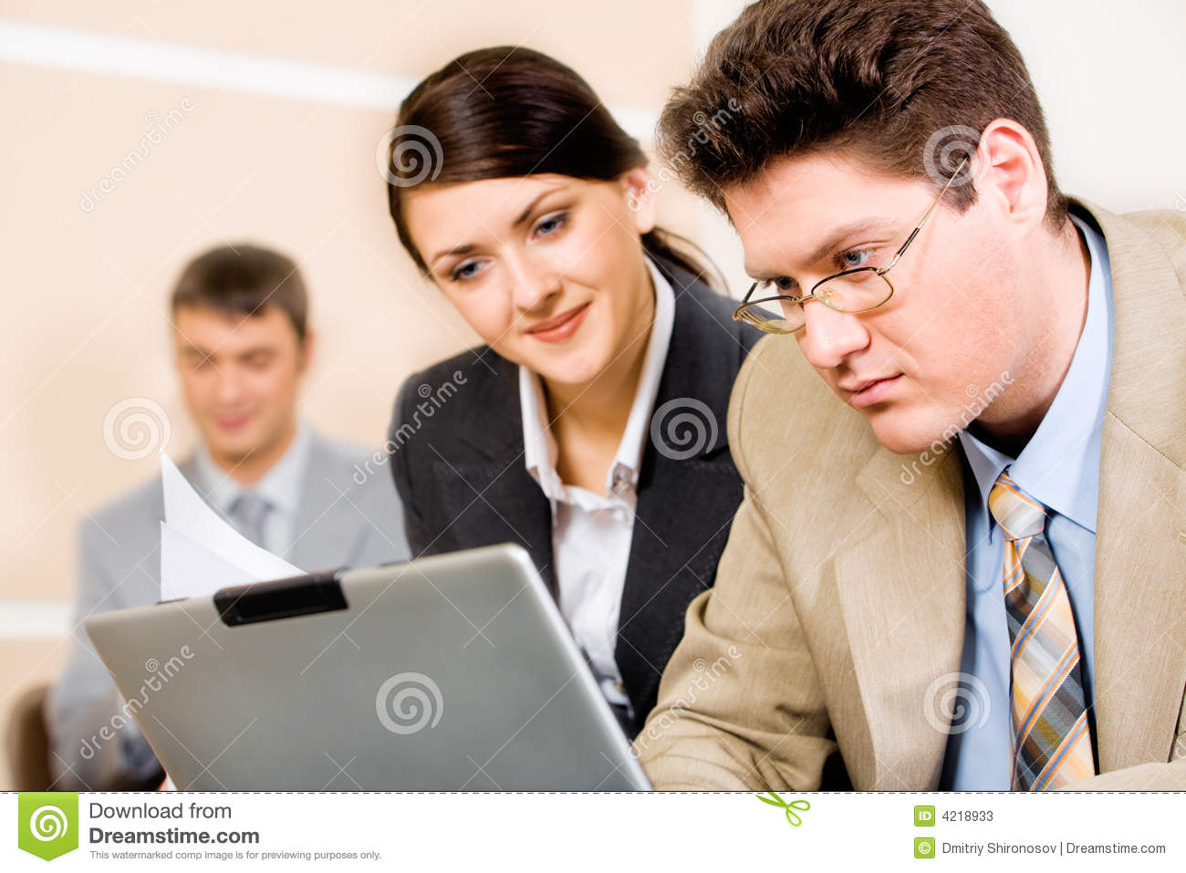 Stock Images People Working