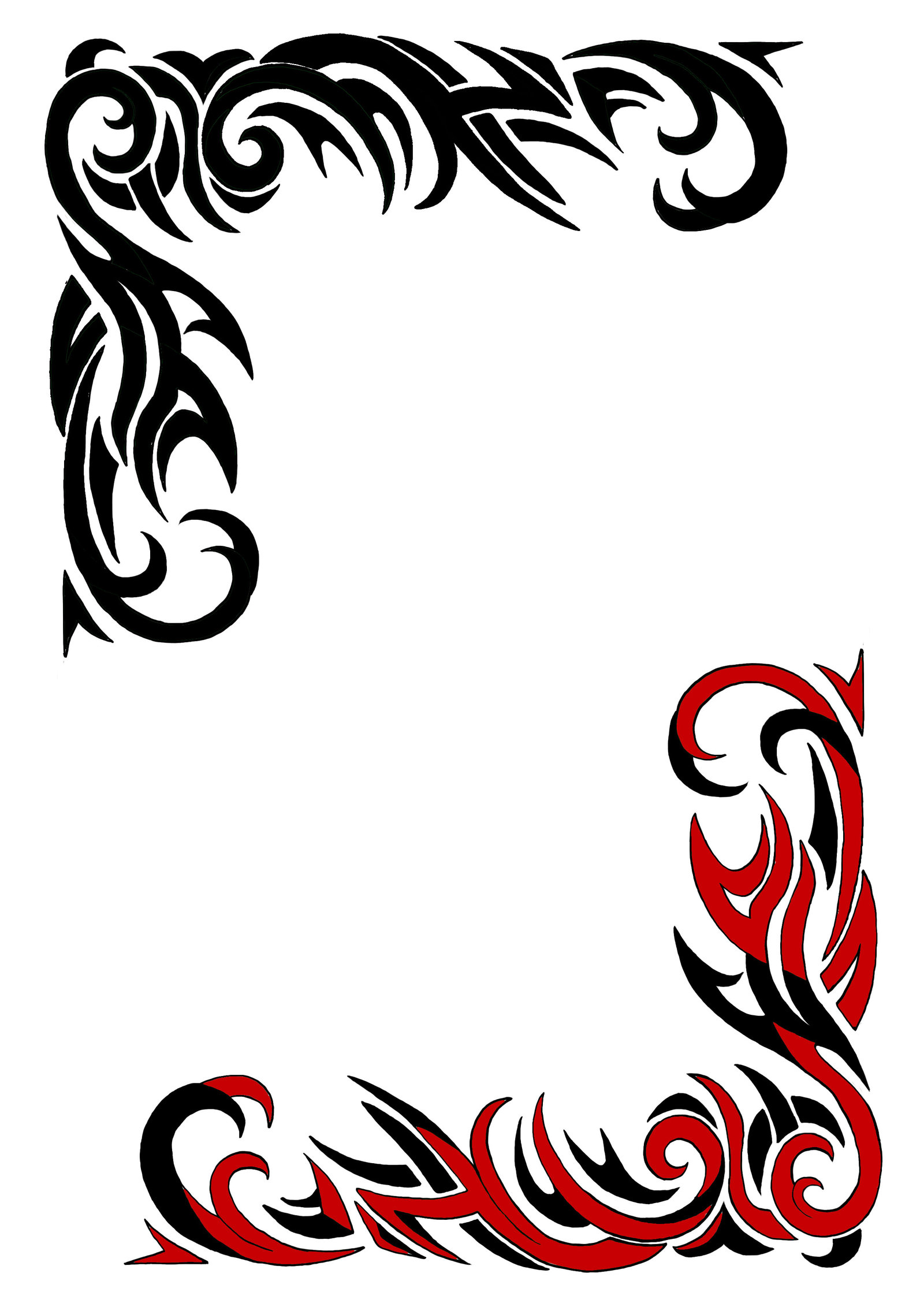 Tribal Border Designs