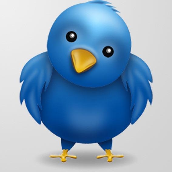 10 Twitter Bird PSD Images