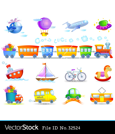 Types of Transportation for Kids