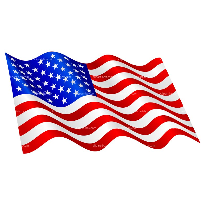 USA American Flag Clip Art
