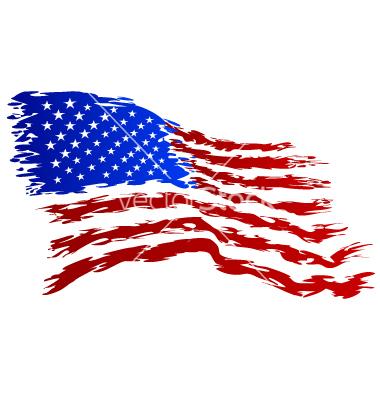 USA Flag Vector Art