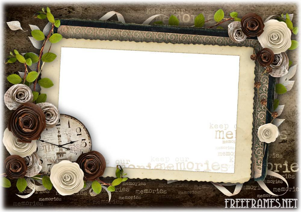 11 Vintage Frames PSD Images - Picture Frame Photoshop PSD ...