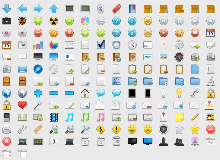 Web Design Icons Free