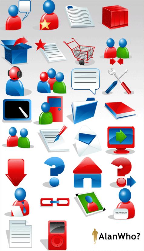 Website Navigation Icons